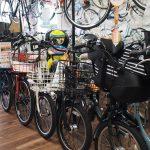 子供乗せ自転車色々あります!お子様と一緒に試乗してくださいね♪