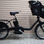 2017年モデルの電動子供乗せ自転車がお買い得です♪①パナソニック ギュットミニDX