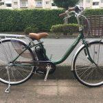 軽い電動自転車 パナソニック ビビ・LU 限定カラー入荷しました!→完売しました