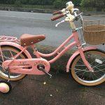 幼児自転車の定番 ブリヂストン ハッチ♪