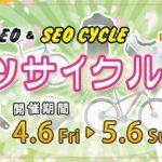 残りわずか!セオサイクルスポーツサイクルフェア!