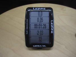 LEZYNE MEGA XL GPS使ってみました①