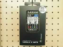 大人気!LEZYNE MEGA C GPS再入荷です!