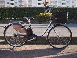 定番電動自転車 パナソニック ビビ・DX入荷しました♪