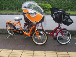 電動じゃない、子供乗せ自転車!丸石 ふらっか~ずシュシュ